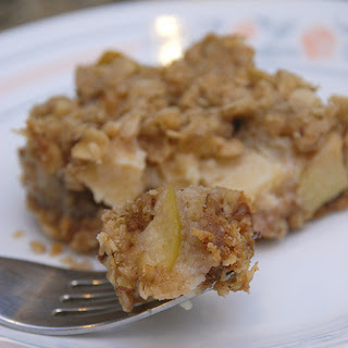 Baked Apple Squares