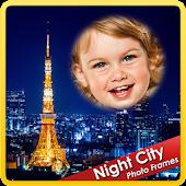 Night City Photo Frames