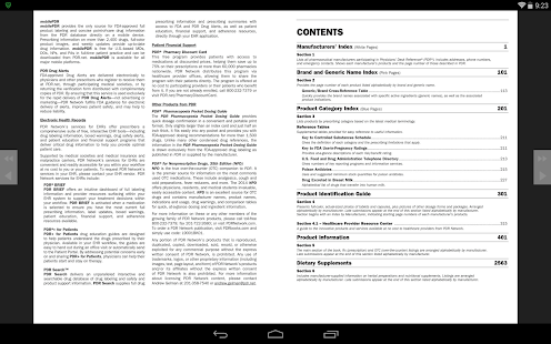 who drug dictionary download free