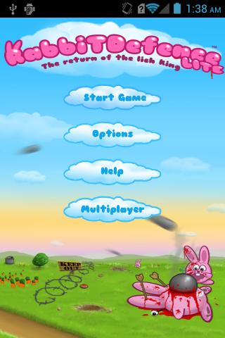 【免費休閒App】Rabbits defence Games-APP點子