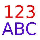 Apprendre nombres et lettres