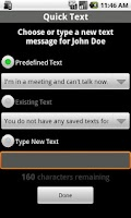 Screenshot of Quick Text Free