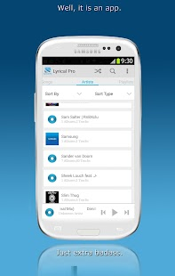 LyricalPro Music Lyrics Player- screenshot thumbnail