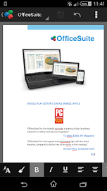 OfficeSuite 7 + PDF to Word Screenshot 1