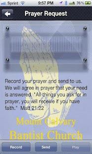 Mount Calvary Baptist Church - screenshot thumbnail