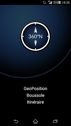 GeoPosition - Boussole