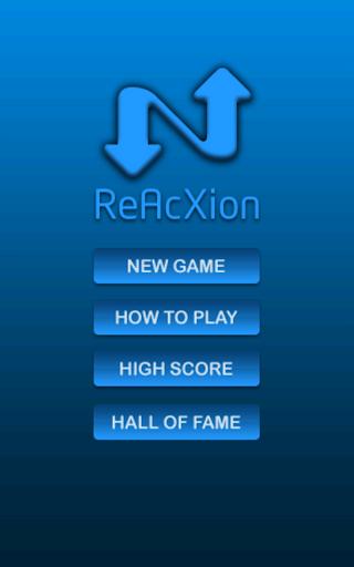 ReAcXion - Reaction time
