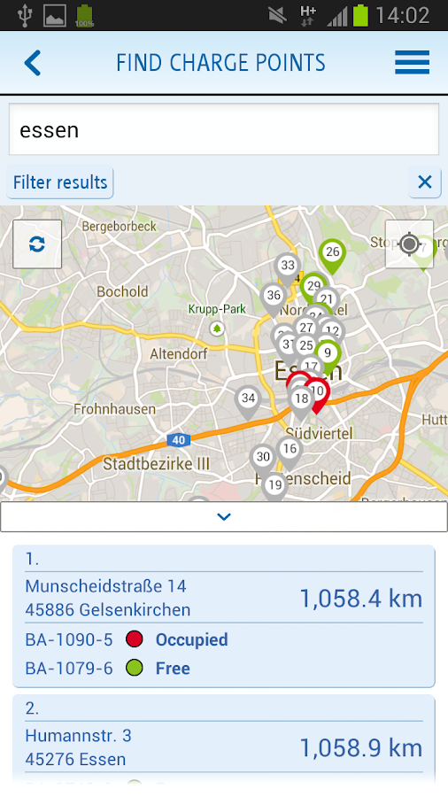 e-kWh - screenshot