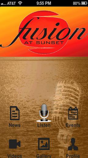 Fusion Sunset
