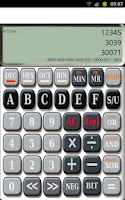 Screenshot of HexCalc Programmers Calculator