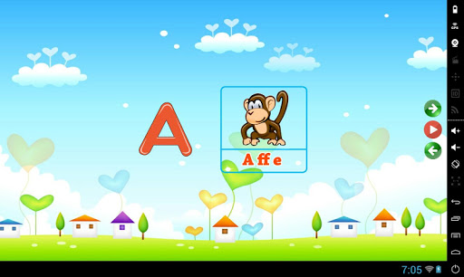 Kinderspiele Lernen ABC