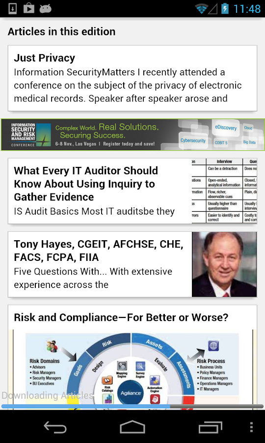 ISACA Journal - screenshot