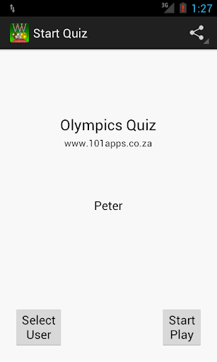Olympics Quiz