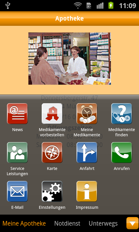 ApothekenApp - screenshot