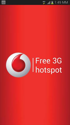Vodafone Free 3G Hotspot