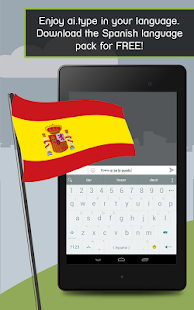 Spanish for ai.type Keyboard- screenshot thumbnail