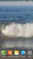 Screenshot of Angry Ocean Live Wallpaper HD