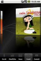 Screenshot of Radio Taormina