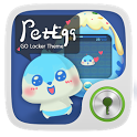 Pet Egg GO Locker Theme icon
