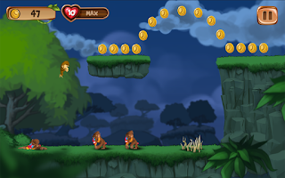Screenshot of Banana Island –Monkey Kong Run