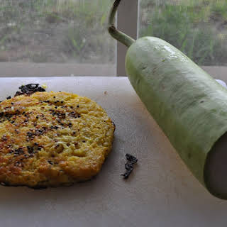 Savory Lentil Cakes or Pancakes.