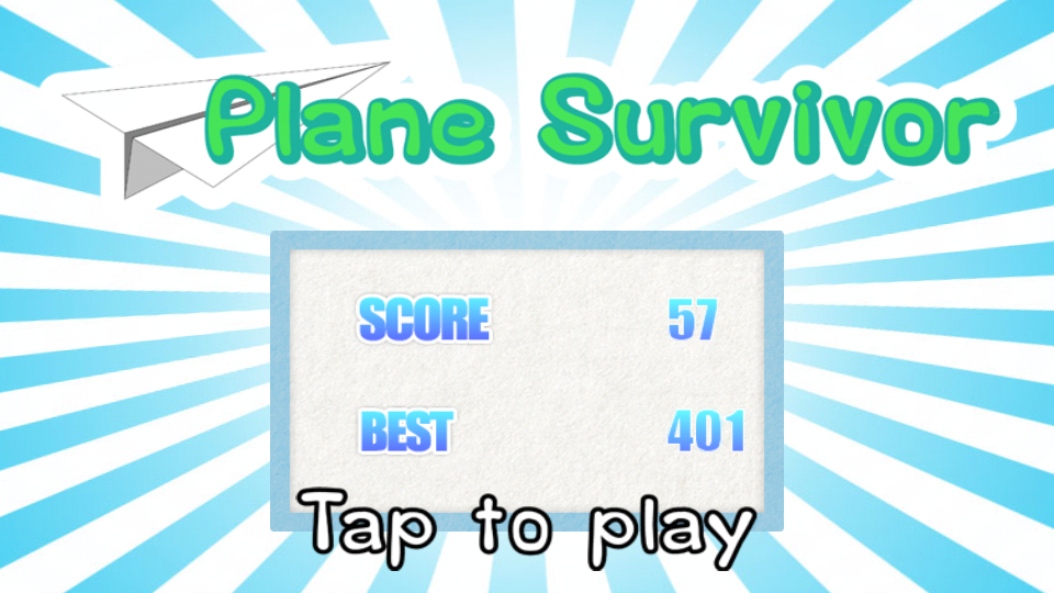 Plane Survival- screenshot