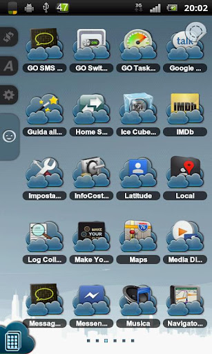 Clouds Theme TSF Shell v3.0