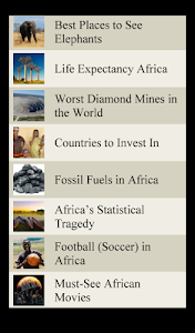 World Travel Lists - AFRICA screenshot 4