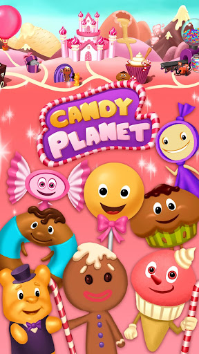 Candy Planet Factory - No Ads