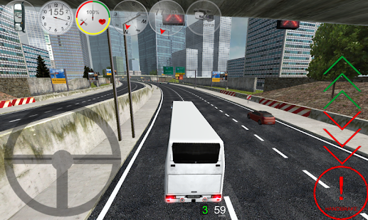بازی راننده اتوبوس Duty Driver Bus FULL v1.0