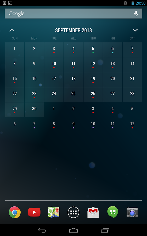 Today - Calendar Widgets Free - screenshot