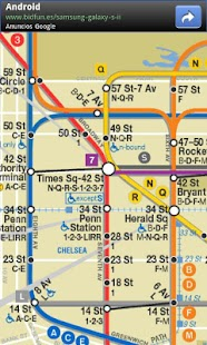 New York Subway & Bus maps - screenshot thumbnail