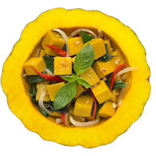 Stir-Fried Pumpkin with Chiles and Basil (Fakthong Pad Bai Horapa)