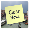 Clear Note Widget Sticky Notes logo