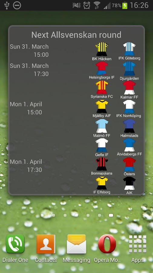Next Allsvenskan Match 2013 - screenshot