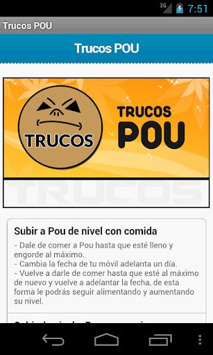 Trucos Pou