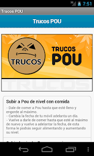 Trucos Pou- screenshot thumbnail