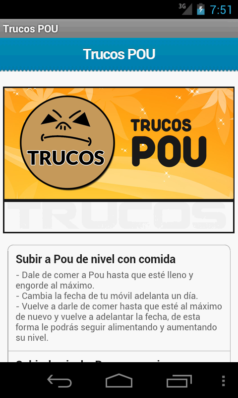 Trucos Pou - screenshot