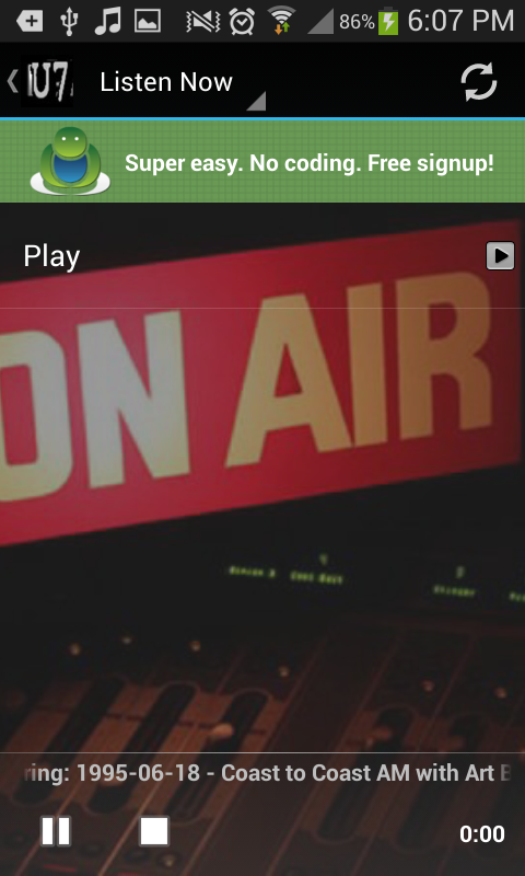U7 Radio- screenshot