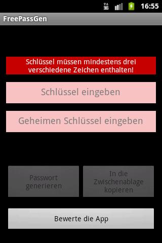FreePassGen: sicheres Passwort