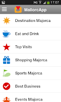 Screenshot of MallorcApp
