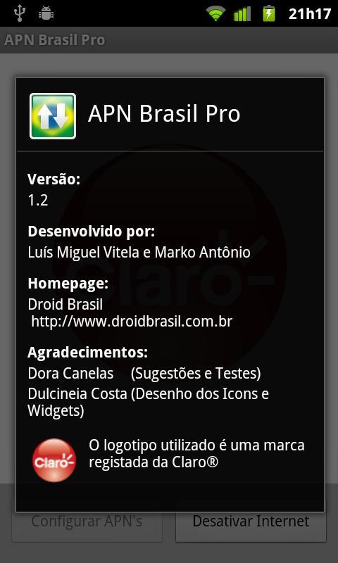 APN Brasil Pro - screenshot