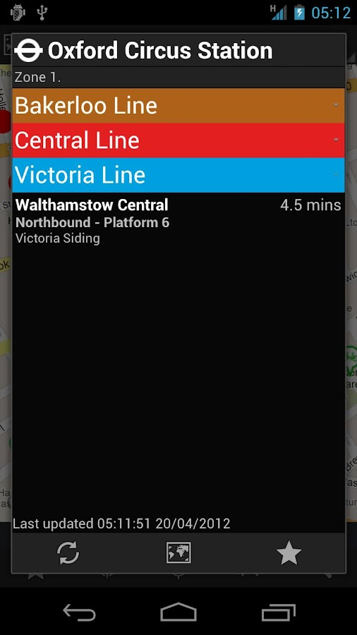 London Transport Live - screenshot