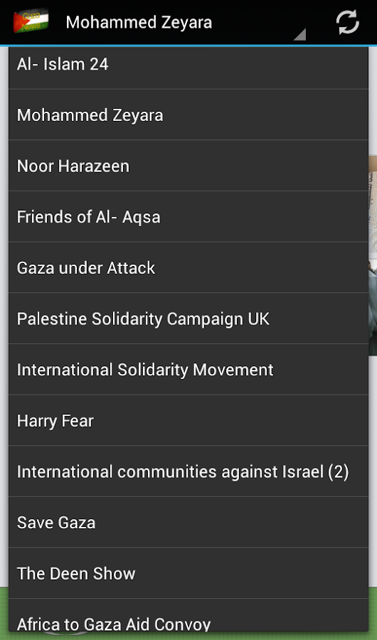 Gaza News 24- screenshot