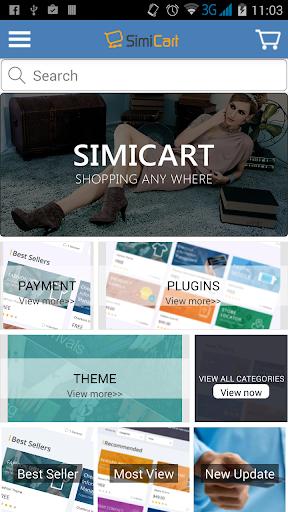 SimiCart - Magento mobile app