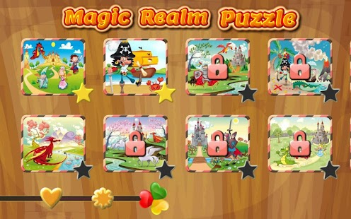 Magic Realm Puzzles for kids - screenshot thumbnail