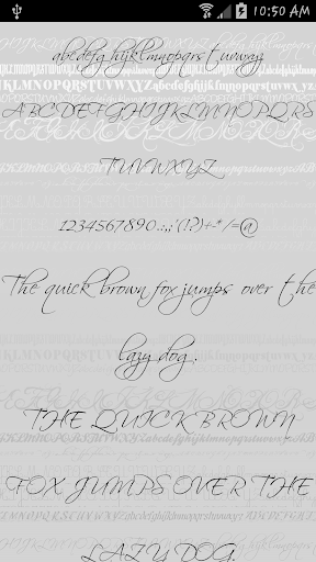 Fonts - Sexy for FlipFont Free
