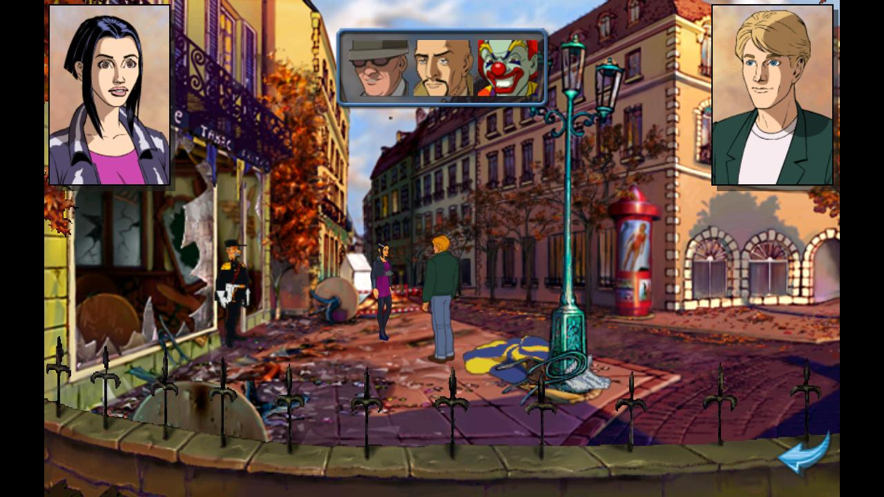 Broken Sword : Director's Cut - screenshot