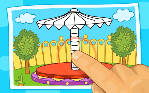 Kids Tap and Color (Lite) screenshot