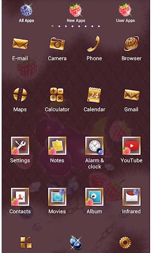 Girly Theme-Sparkle Fruits- 1.0 Windows u7528 2
